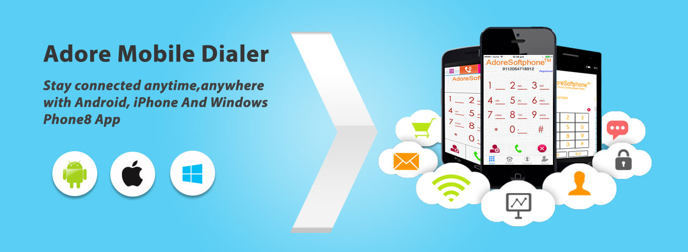 Mobile Dialer is the most popular application in VoIP