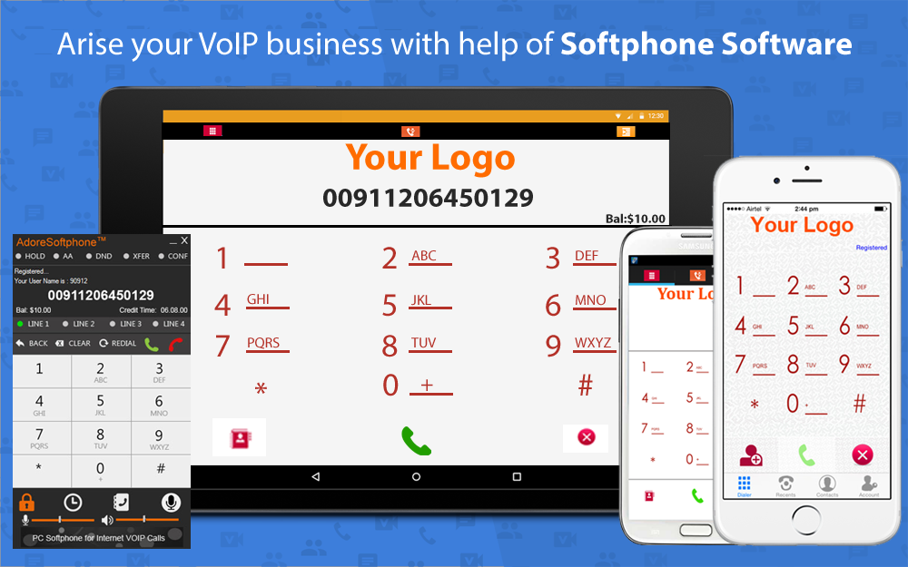 Arise your VoIP business with help of Softphone Software