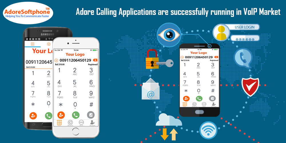 Adore Calling Applications are successfully running in VoIP